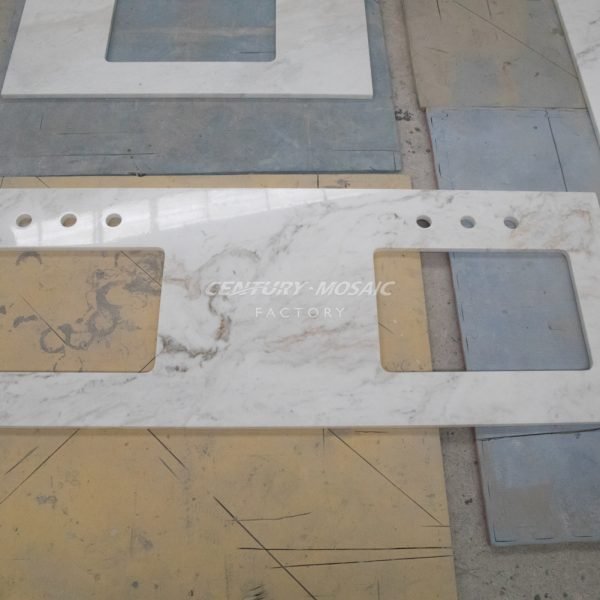 Glorious Gold Marble Countertop
